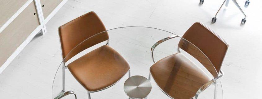 mesas de cristal en girona